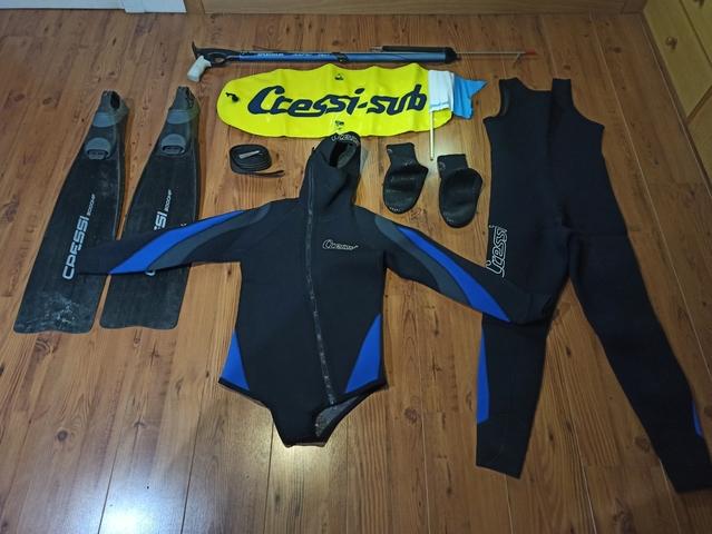 Pack De Pesca Submarina