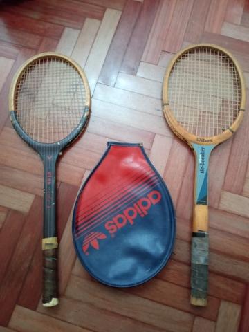 Raquetas Vintage De Madera