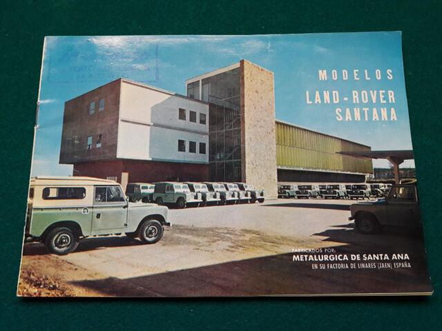 Catálogo Land Rover Santana
