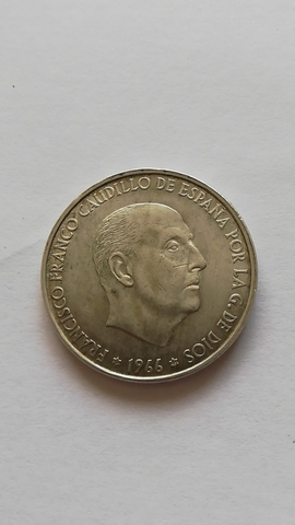 Moneda De Plata 1966