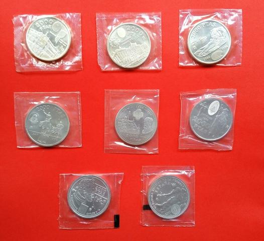 Colección De Monedas De 2000 Pesetas
