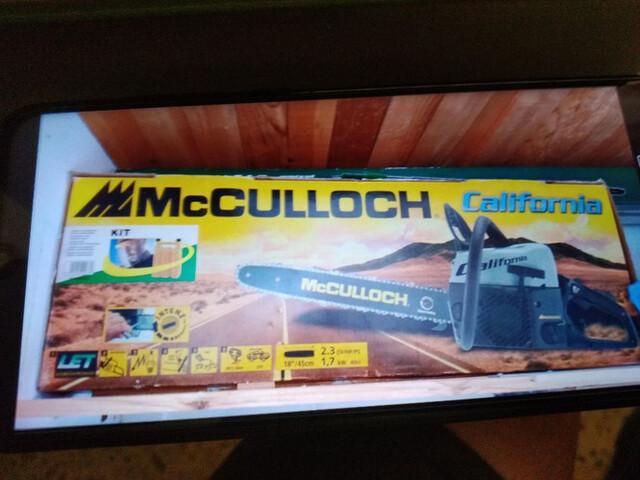 Motosierra Mcculloch California