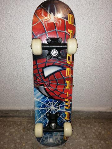 Skate Spiderman