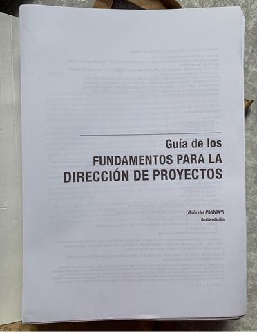 COPIAS GUÍA PMBOK ESPAÑOL-PMI - foto 1