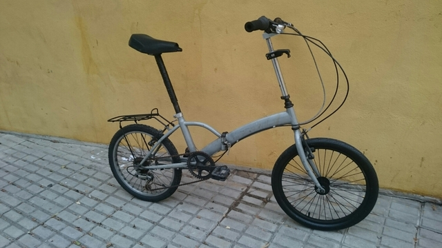 Bicicleta Adulto Plegable
