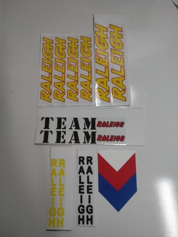 Adhesivos Team Raleigh