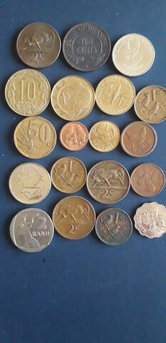 Monedas Lote Africa