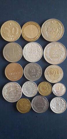 Monedas Turquia