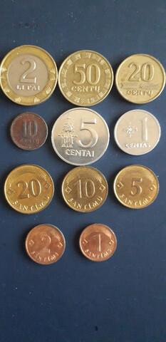 Monedas Lituania