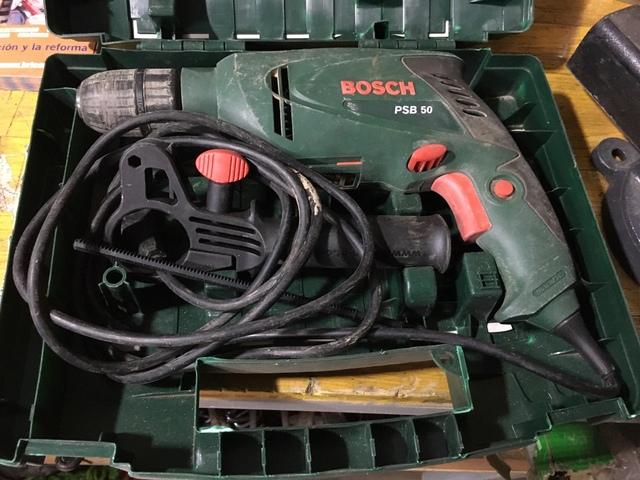 2 Taladros Bosch Psb 50