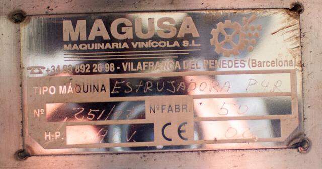 ESTRUJADORA TRITURADORA DE UVAS MAGUSA - foto 2