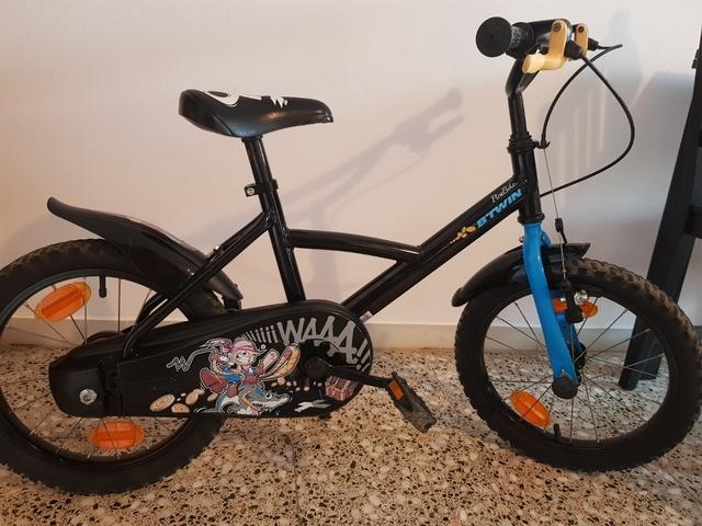 Bicicleta De Niño De 4 A 7 + O -