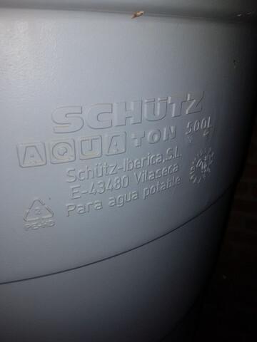 Deposito De Agua De 500 Litros