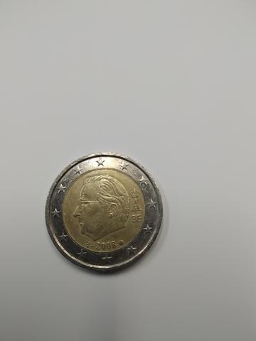Moneda  2 Euros Bélgica Segunda Edición