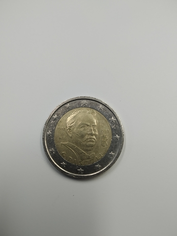 Moneda Conmemorativa 2 Euros Italia 2012