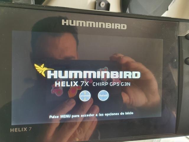 HUMMINBIRD HELIX 7X CHIRP GPS G3N - foto 1