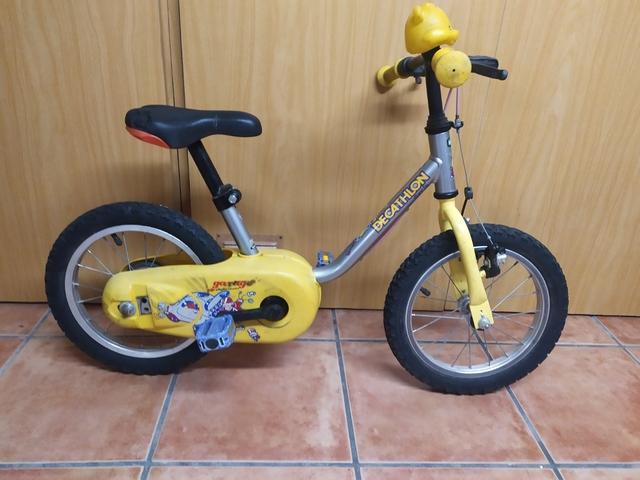 Bicicleta Niño Iniciacion 14 Pulgadas