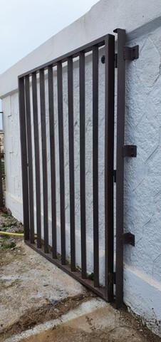 Puerta Exterior De Hierro Estilo Verja