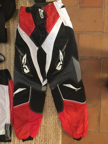 Pantalón,  Camiseta Motocross Niño