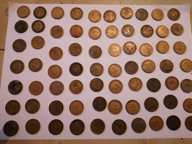 Monedas Pesetas Franco