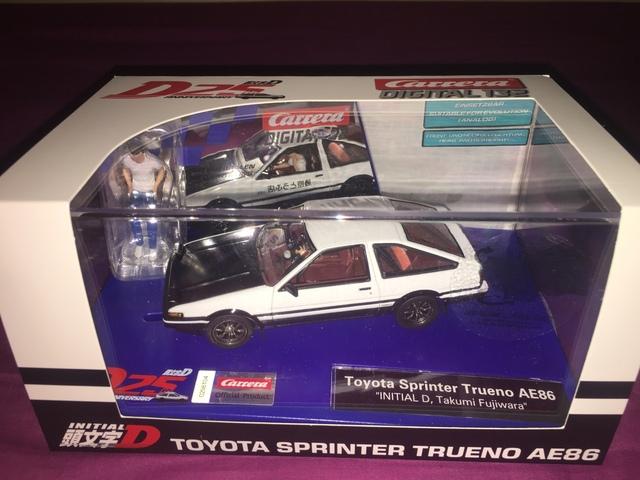 Toyota Trueno Initial D 25 Aniversario