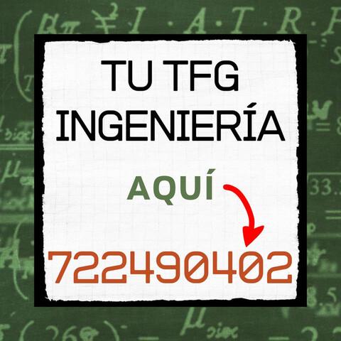 AYUDA --  TFM/TFG INGENIERÍA/ - foto 1