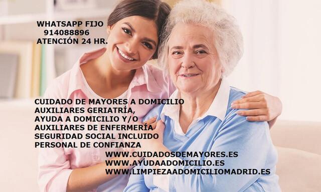 CUIDADO PERSONAS MAYORES - foto 1