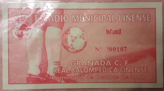 ENTRADA GRANADA- LINENSE - foto 1