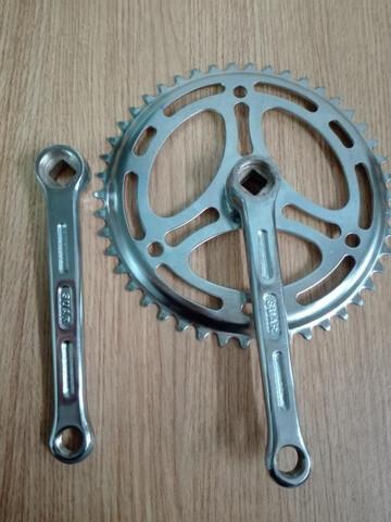 Pedalier Bicicleta Antigua