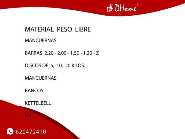 MATERIAL PESO LIBRE - foto 3