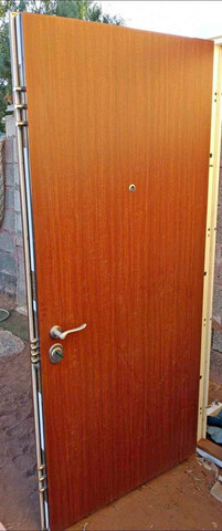 Puerta Entrada Blindada Alta Seguridad