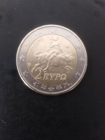 Moneda 2 Euros Grecia 2002 S