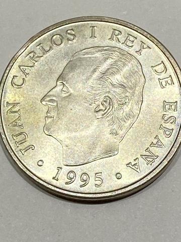 Moneda Plata 2000 Pesetas Año1995