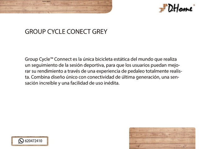 GROUP CYCLE CONECT GREY - foto 3