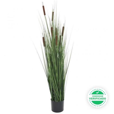 Planta De Hierba Artificial Con Junco 12