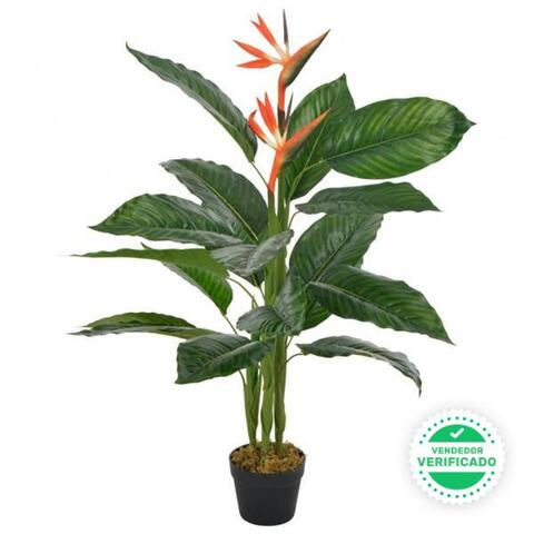Planta Artificial Strelitzia Con Maceter