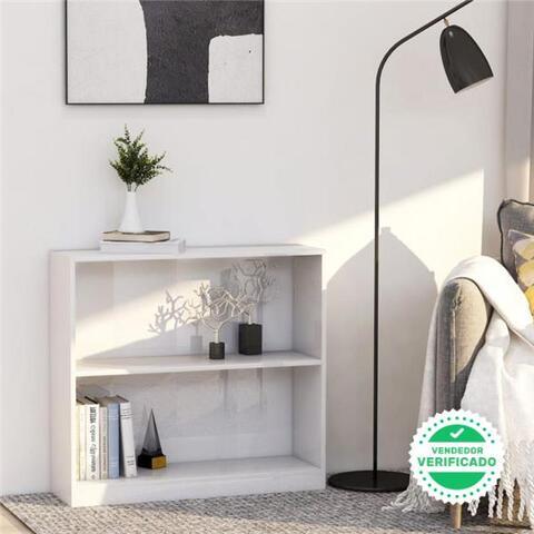 EstanterãA De Aglomerado Blanco Brillan