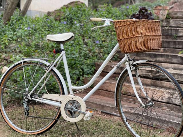 Bicicleta Vintage Blanca