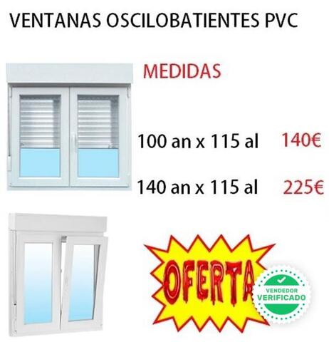 Ventana Oscilobatiente De Pvc