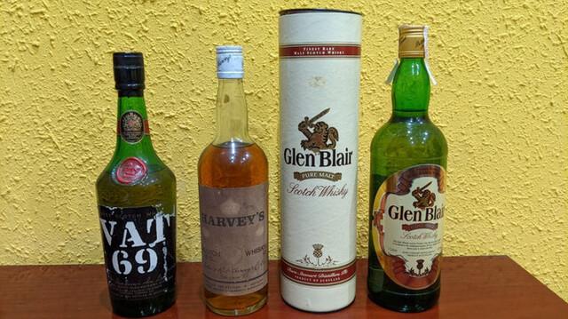 Whisky Lote De 3 Botellas De Coleccion