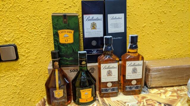 Whisky -4 Botellas Año 2000