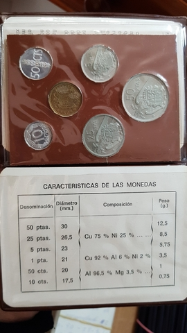 CARTERAS NUMISMÁTICA 6 MONEDAS SC - foto 1