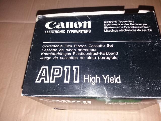 MAQUINA ESCRIBIR ELÉCTRICA CANON AP1000 - foto 4