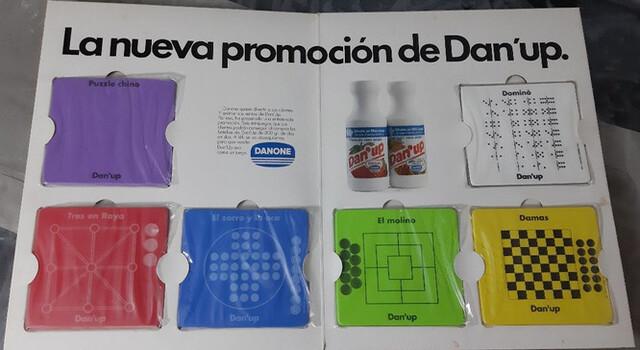 JUEGOS DE MESA DANONE DAN´UP - foto 1