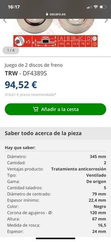 DISCOS DE FRENO BMW - foto 6