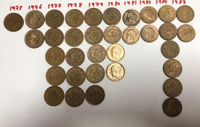 Monedas De 10 Francos Franceses Pesetas