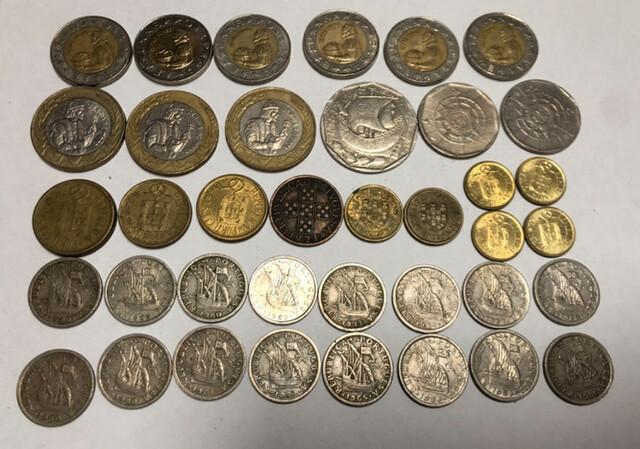 Moneda Portuguesa Antigua Escudos