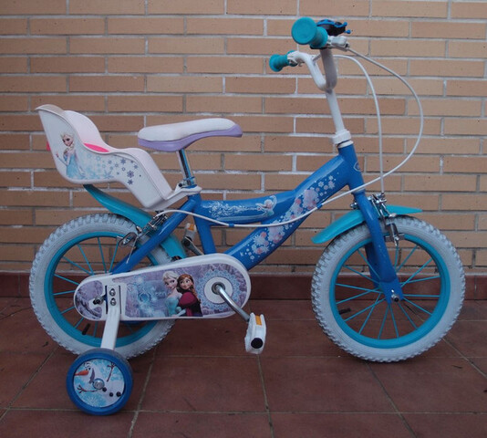 Bicicleta 14 Pulgadas Frozen