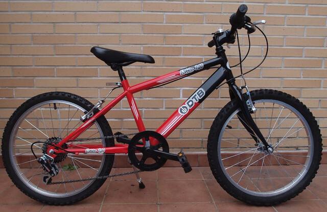 Bicicleta 20 Pulgadas Dtb