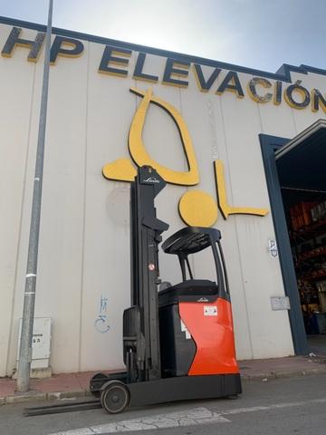 CARRETILLA ELEVADORA RETRACTIL LINDE - foto 4